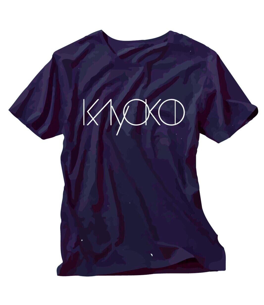 《50%OFF》KAYOKO Name Logo T-Shirts(ネイビー)