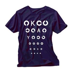 《50%OFF》視力検査 T-Shirts(ネイビー)
